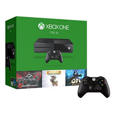Xbox One 1TB Limited Edition Console with Gears of War, Rare & Extra Controller Bundle