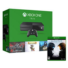 Xbox One 1TB Limited Edition Console with Gears of War, Rare & Halo 5: Guardians