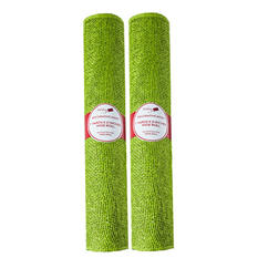 Decorative Holiday Burlap Ribbon - Green (2 pk.)