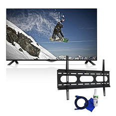 "LG 49"" Class 4K Ultra HD LED Smart TV and Fixed Tilt Mount 37"" to 70"" Bundle"