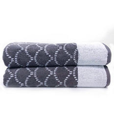 "Loft Fashion Bath Towel, 100% Cotton, 30"" x 58"" - Various Patterns"