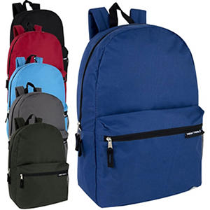 High Trails 19 Inch Backpack - 6 Colors - 24 Pack
