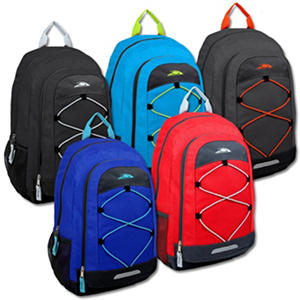 Trailmaker 19 Inch Optimum Backpack - 4 Colors - 24 Pack