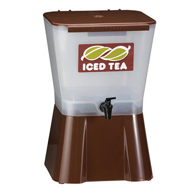 Tablecraft Ice Tea Beverage Dispenser - 3 gal.