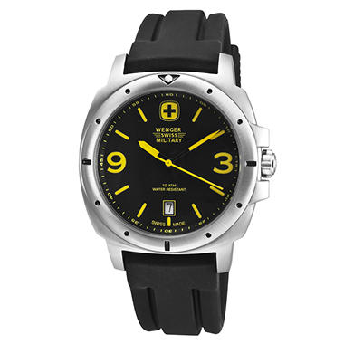 Wenger Swiss Military Expedition Watch - Black and Yellow