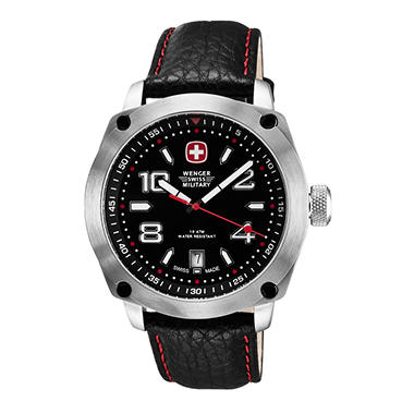 Wenger Swiss Military Outback Watch - Black and Red