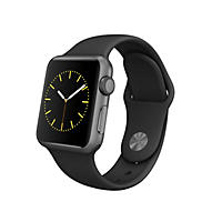 Apple Watch Sport - 38mm Space Gray Aluminum Case - Black Sport Band