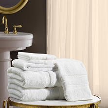 Hotel Luxury Reserve Collection 6-Piece Bath Towel Set by Member's Mark