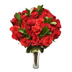 Ruby My Love Bouquet - 24 Red Roses