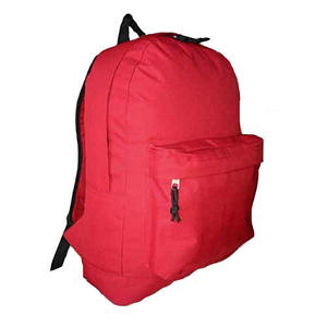 """HV 18"""" Backpacks - Red - 30 pk."""