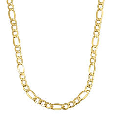 14K Yellow Gold Figaro Chain - 22""