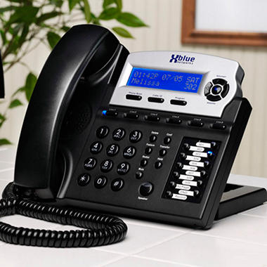 XBlue Charcoal Telephone