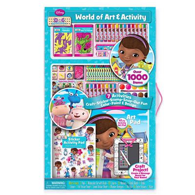 Disney Art & Activity Set - Doc McStuffins