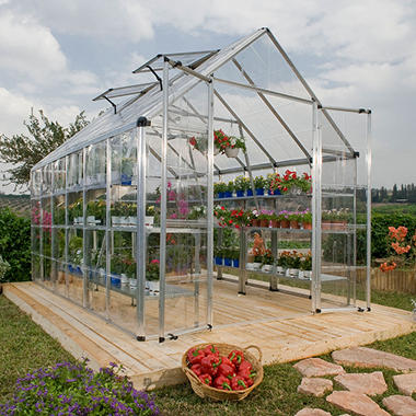 Snap & Grow Silver Greenhouse - 8' x 16'
