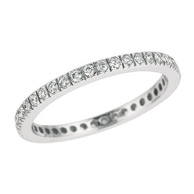Micro Prong-Set Diamond Eternity Band (H-I, I1)