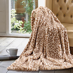 "Oversized Luxury Throw 60"" x 70"" - Various Animal Prints"