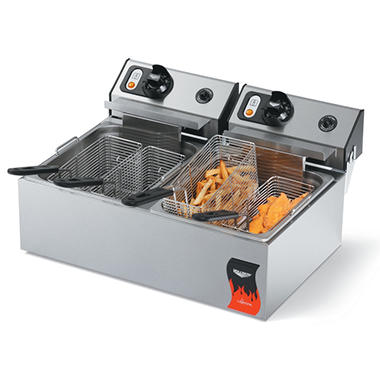 Vollrath Cayenne 40707 Two Well Fryer