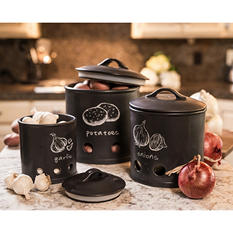 3-Piece Kitchen Canisters