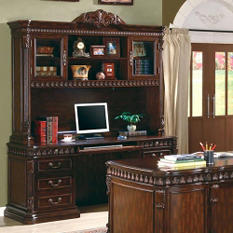 Union Hill Computer Hutch/Credenza, Rich Brown