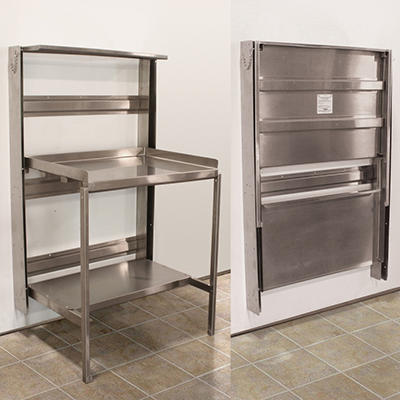 """Prairie View Wall-Mount, Retractable Prep Station - 36"""" Or 48"""" Widths"""