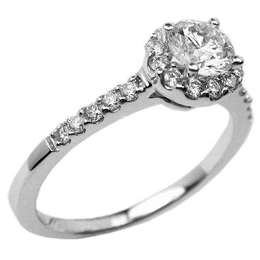 .72 ct. t.w. Round-Cut Diamond Pave Ring (I, SI2)