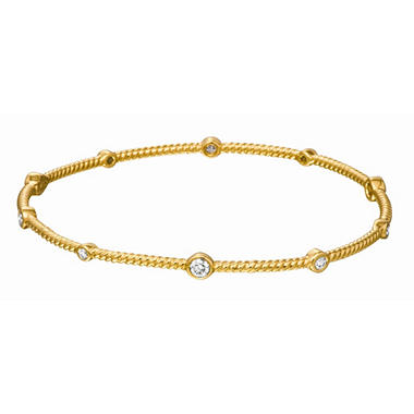 .51 ct. t.w. Round-Cut Diamond Bangle Bracelet (I, SI1)
