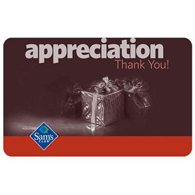 Appreciation Gift Card