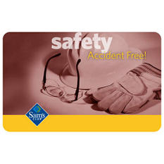 Safety Gift Card