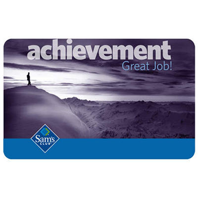Achievement Gift Card