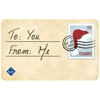 Post Card Gift Card
