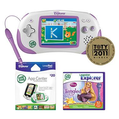 LeapFrog® Leapster Explorer™ Bundle - Pink