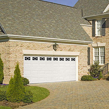 "Amarr WeatherGuard"" Garage Door - Waterford Short"