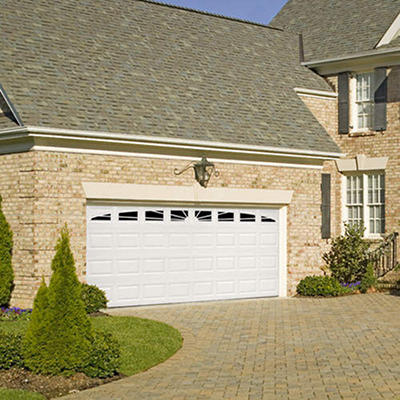 "Amarr WeatherGuard"" Garage Door-Full Sunray Short"