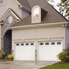 "Amarr WeatherGuard"" Garage Door - Prairie Short"
