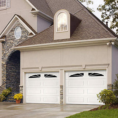 "Amarr WeatherGuard"" Garage Door - Sunray Long"