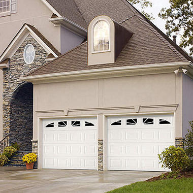"Amarr WeatherGuard"" Garage Door - Sunray Short"