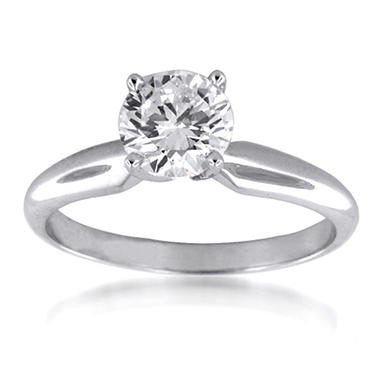 1.51 ct. Round Diamond Solitaire Ring (G, VS2)