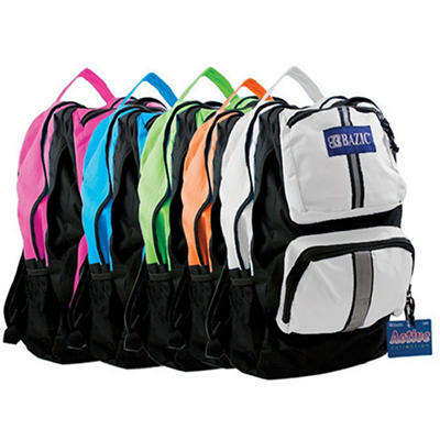 "Bazic 17"" Backpacks Active - 20 pk."