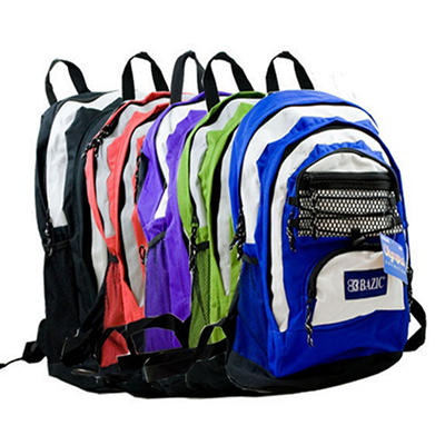 "Bazic 17"" Backpacks Olympus - 20 pk."