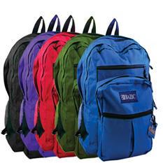 "Bazic 17"" Backpacks - 20 pk."