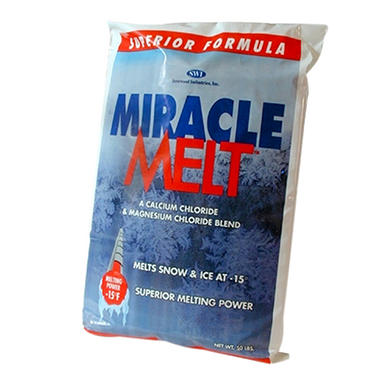 50 lb. Bag Miracle Melt Blended Ice Melt