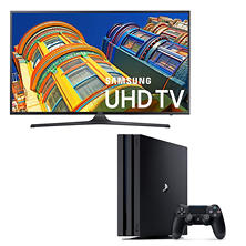 "PS4 Pro 1TB and Samsung 40"" 4K TV Bundle"