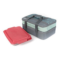 Arctic Zone Expandable Thermal Carrier with Baking Dish - Assorted Colors