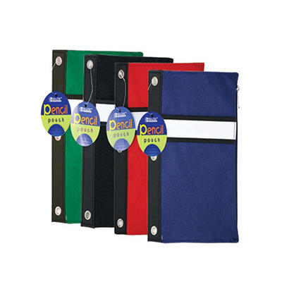 Bazic 3-Ring Pencil Pouch - 144 pk.
