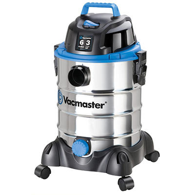 Vacmaster VQ607SFD Stainless Steel Wet/Dry Vacuum