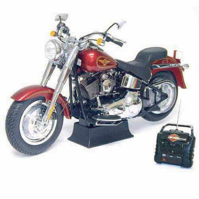 28 R/C Harley Davidson Fat Boy   Red   49MHz