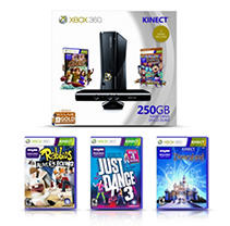 Xbox 360 250GB Kinect Value Bundle with Bonus Games