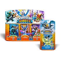 Skylanders Triple Pack with 1 Single Character (you choose!)