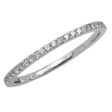 0.40 ct. t.w. Diamond 18K White Gold Eternity Band (I, SI2)