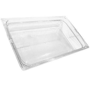 Clear Top Notch™ Insert Food Pan - 6 pk.